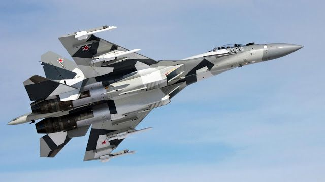 Rusia aviones de combate