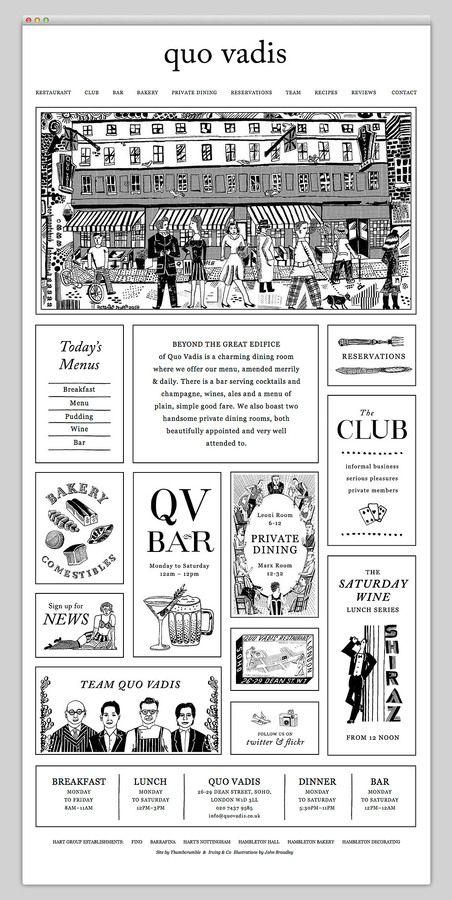 #webdesign #restaurant #illustration Niice. A search engine with taste.