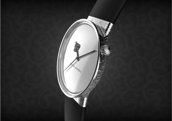 Dressed Alessi watches at Marcel Wanders