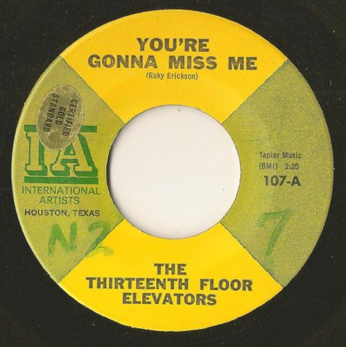 the thirteenth floor elevators 13th garage psych 45 you 39 re