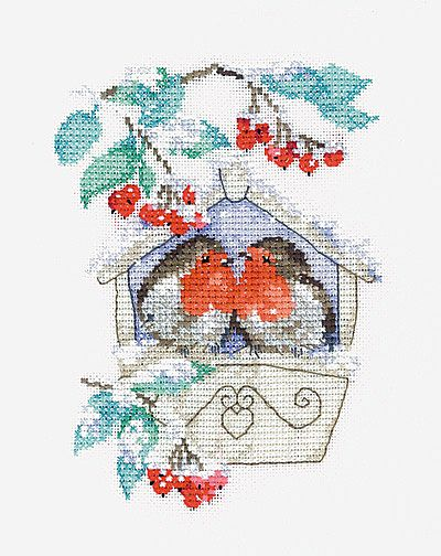 Hideaway Cross Stitch Kit By Heritage Crafts