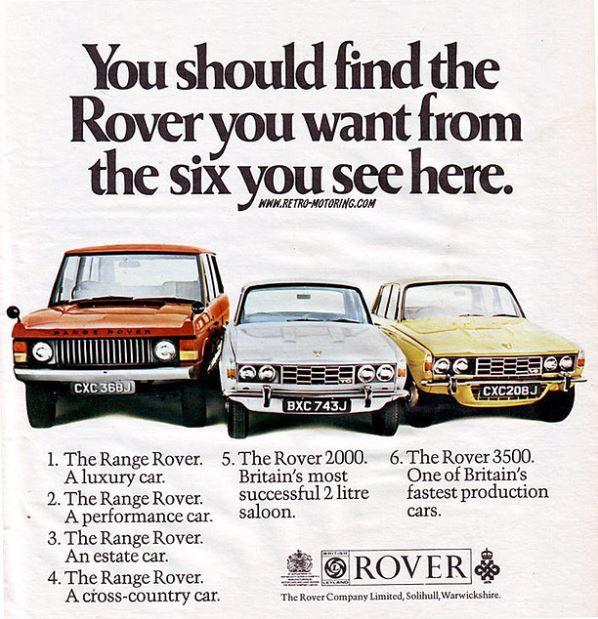 Rover Car Advert