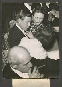 1939-Antique-original-Photo-Duke-Windsor-former-King-Edward-VIII-Wallis-Simpson