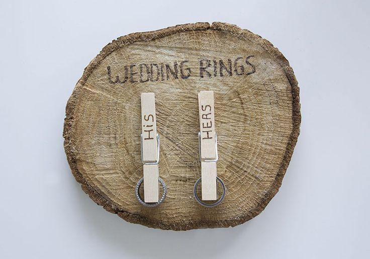 Zoek je nog een origineel ringkussen? Ik heb een DIY voor een supergaaf houten ringkussen gemaakt! Je vind hem nu op Trouwgeheimen.