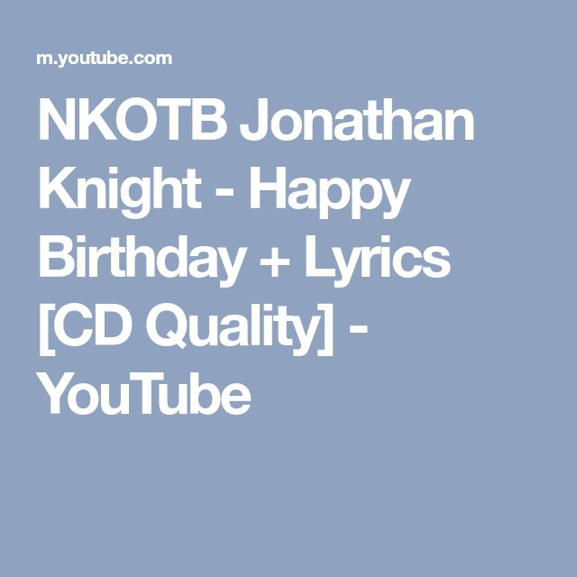 Best 25+ Happy Birthday Lyrics Ideas On Pinterest