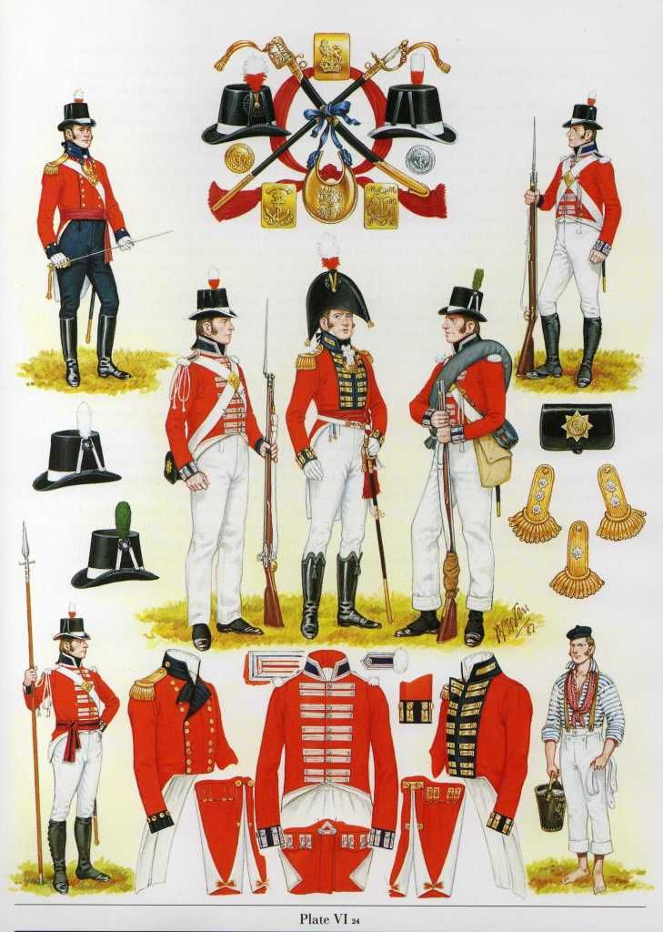Royal Marines nel 1805