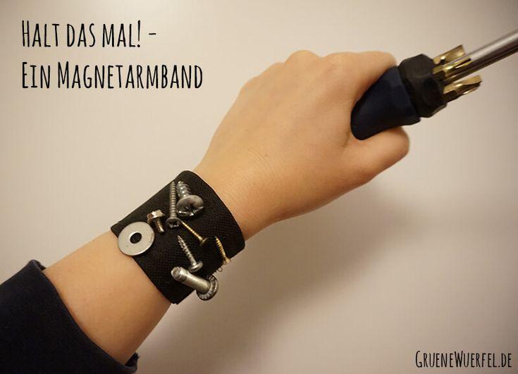 Magnetarmband mit Schrauben