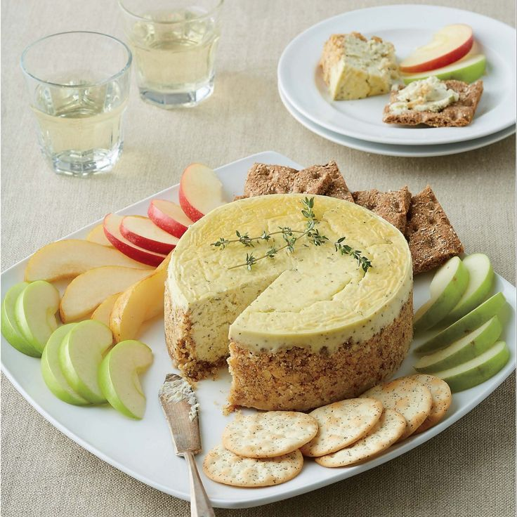 Savory Blue Cheese Appetizer Cheesecake Recipe