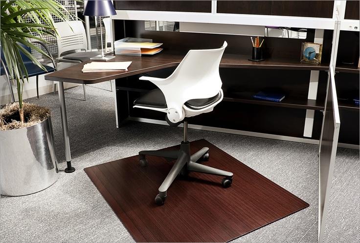 Bamboo mat bamboo chair office chair mat