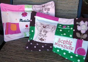 Jelly bean quilts: Tooth Fairies Pillows, Old Baby Clothes, Jellybeanquilts Com, Beans Quilts, Baby Clothing, Babies Clothes, Quilts Baby, Jelly Beans, Memories Quilts