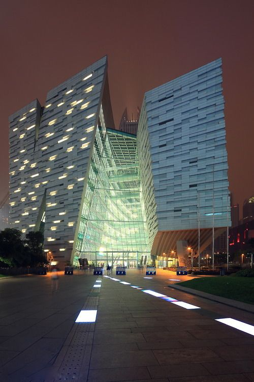 Guangzhou Library by Eugene Lim