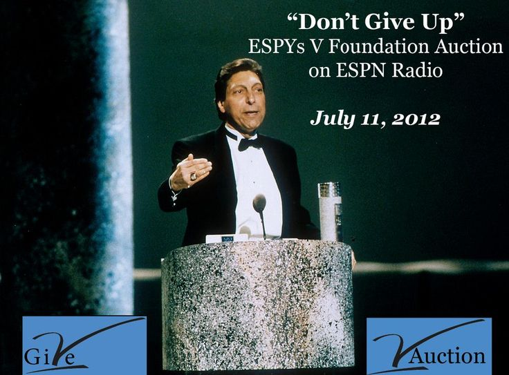 The Jimmy V Foundation - Always striving to find a cure for cancer and never giving up!
