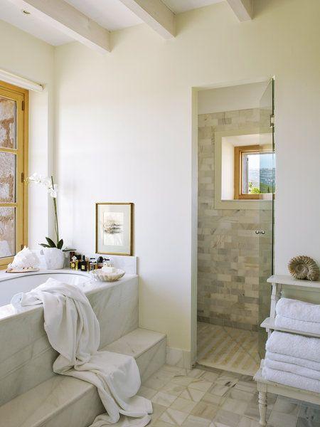 17 mejores ideas sobre sala de duchas en pinterest - Banos con ducha y banera ...