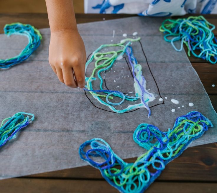 Stringing Letters! An ABC learning game for kids from 100 Fun & Easy Learning Games for Kids!