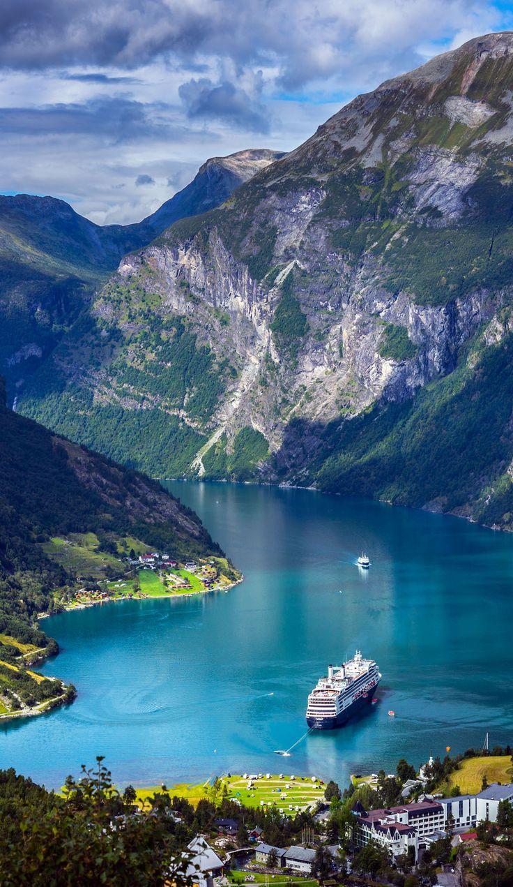 La mejor época para visitar Noruega, en verano. Y con un crucero todavía mejor.