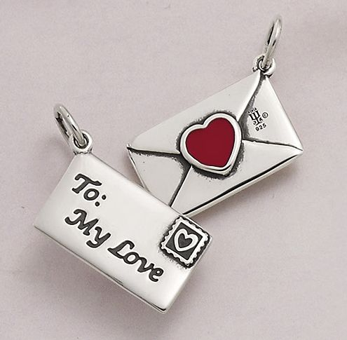 Enamel Love Letter Charm JamesAvery James Avery