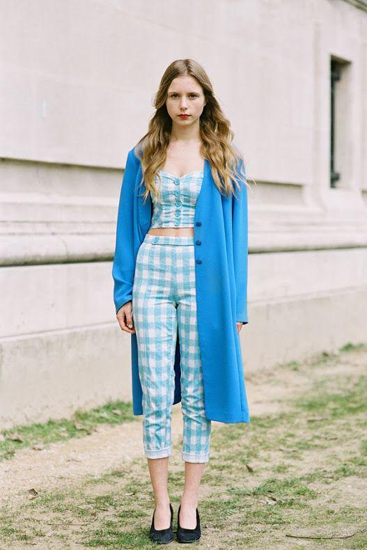 Vanessa Jackman: Paris Fashion Week AW 2013.... #Marie Myrhøj Jensen