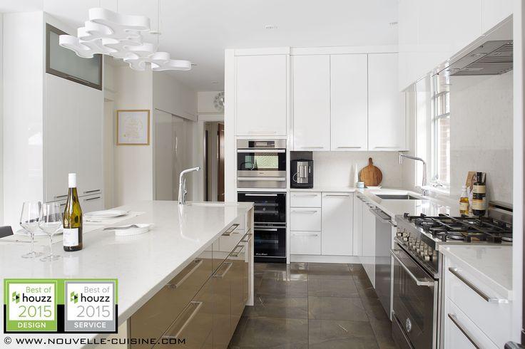 Armoires de cuisine moderne deux tons / Two tone modern kitchen cabinets