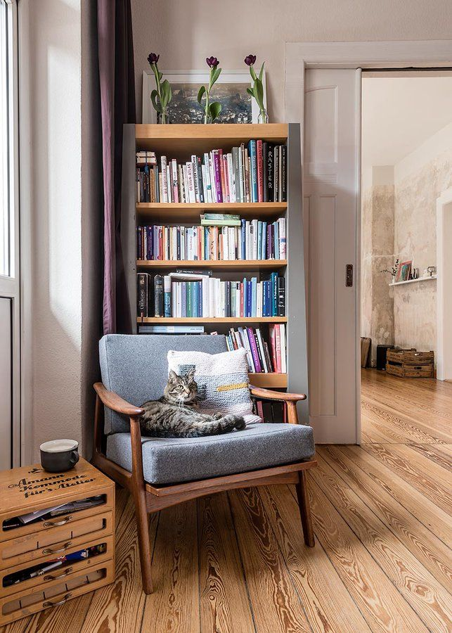 Ja So Ist Das Mit Katzen Da Hatte Sich Mein Mann Heute Den Sessel