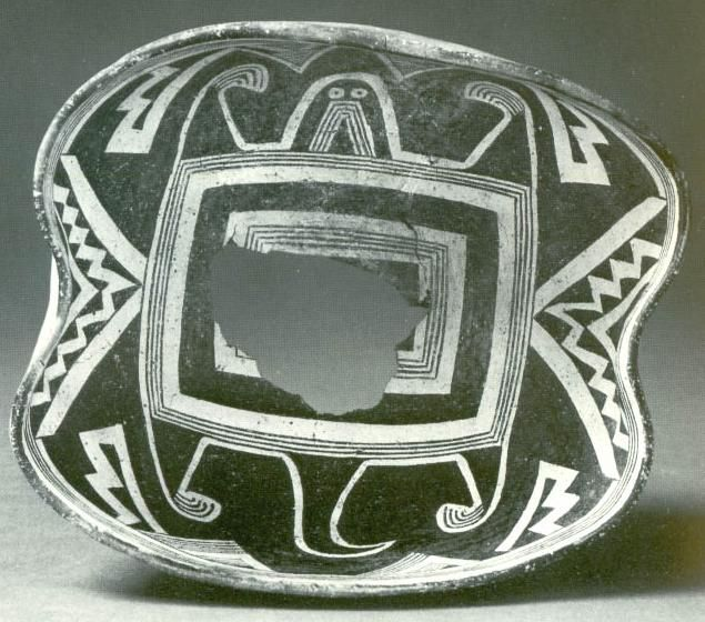 """Swarts Ruin / Dimensions: 7 3/4""""W x 3 5/8""""D / at Peabody - from Rocky Mountain College website rocky.edu"""