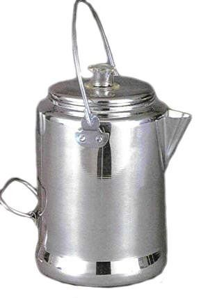 Pin it! :) Follow us :))  zCamping.com is your Camping Product Gallery ;) CLICK IMAGE TWICE for Pricing and Info :) SEE A LARGER SELECTION of  camping coffee & tea pots at  http://zcamping.com/category/camping-categories/camping-cooking-and-food/camping-coffee-and-tea-pots/ - hunting, camp coffee, camping tea pots, camping essentials, camping, camping gear - Camp Coffee Pot « zCamping.com