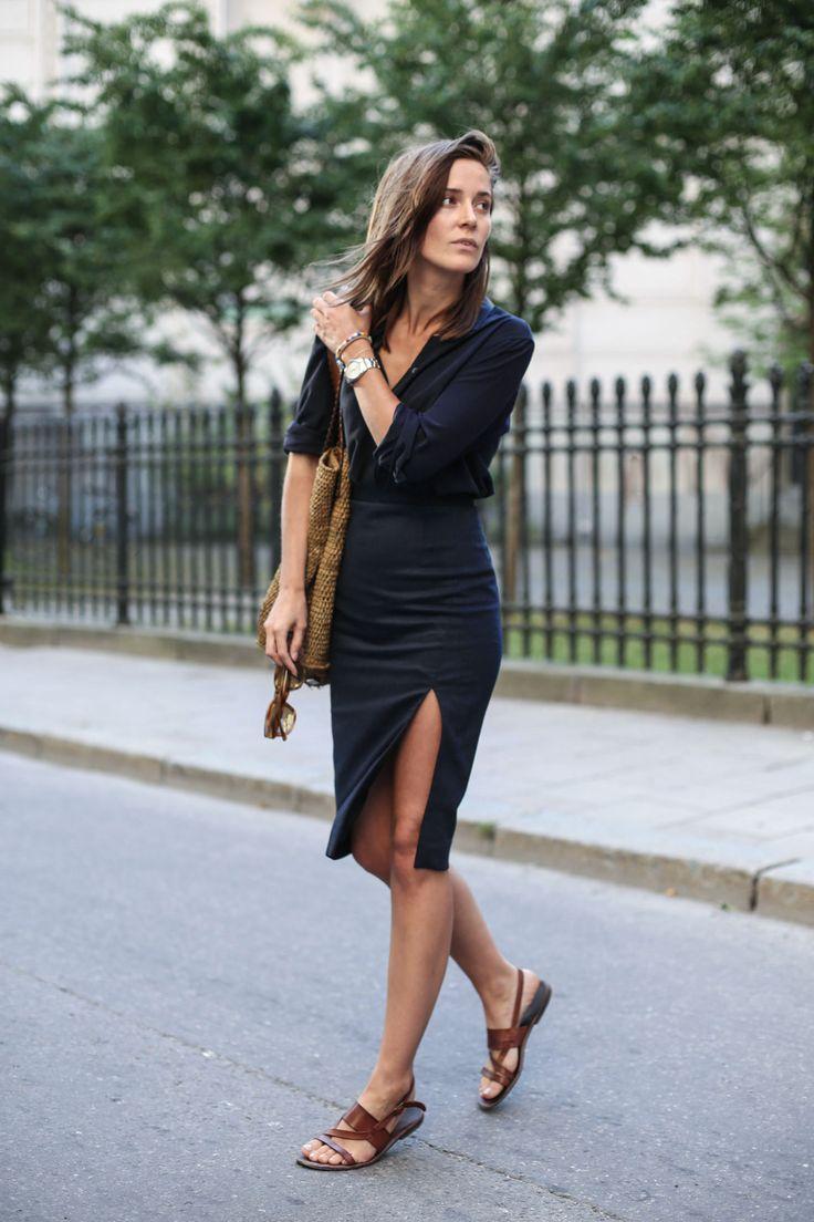 Filippa k black dress shirt