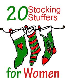 For husbands that are scratching their heads over what to buy for their wives stocking. Stocking stuffers can be a great place to add some surprises and treats.