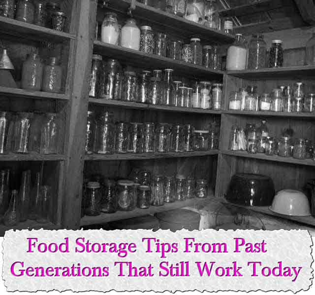 Food Storage Tips From Past Generations That Still Work Today