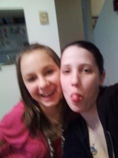 me and my step-sister aferdita..aka dita