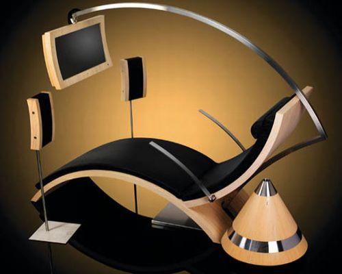 The Future of Relaxing | Futuristic furniture, Funky ...