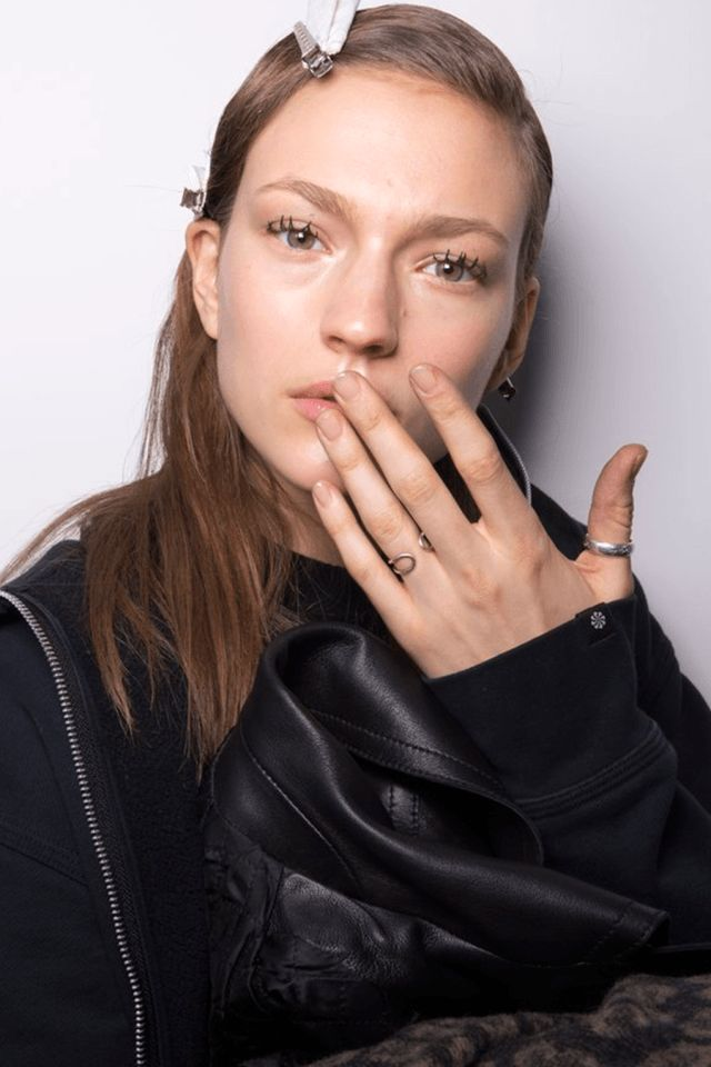 MANICURAS DE MODA OTOÑO INVIERNO 2016-17 - Jason Wu nails Fall Winter 2016-17