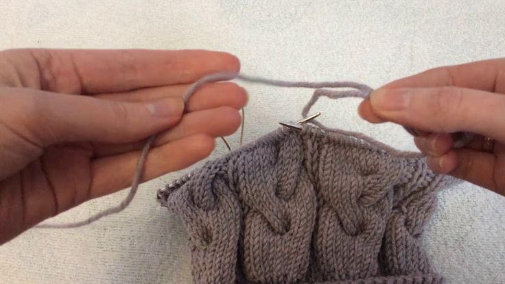 Как я соединяю нити в вязании