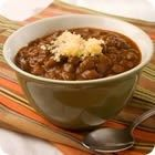 If you want a good, basic chili recipe, this is it.  No odd vegetables, or secret ingredients, just ground beef, tomatoes, red kidney beans, and the usual spices.  Simple and delicious.