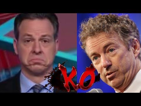 Rand Paul Slams Jake Tapper and Climate Alarmists on Doomsday Predictions - YouTube