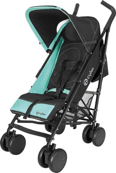 CYBEX BUGGY ONYX-BLACK DESIGN CARIBBEAN | online kaufen bei kids-comfort.de   #cybex #buggy #stroller #onyx #sportwagen #kidscomfort