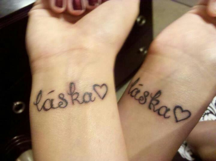 Love in Czech! I need to get this and represent my Czech roots.