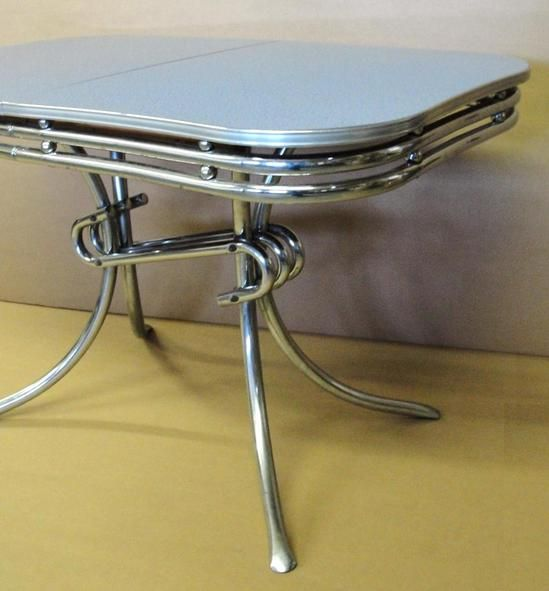 1000 Images About Formica Chrome On Pinterest Table And Chairs Vinyls And Dining Sets