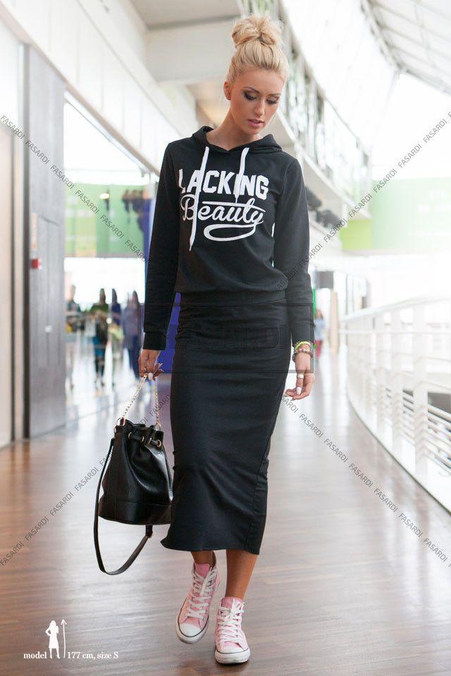 Zestaw czarny | Odzież damska \ zestawy WYPRZEDAŻ