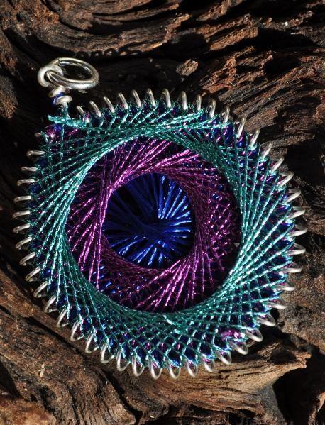 string art pendent