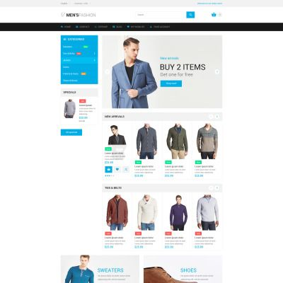 Fashion Bootstrap PrestaShop Template