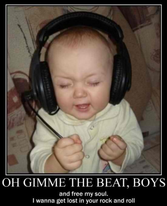 If a song doesn't make me feel like this then it isn't a good enough song!