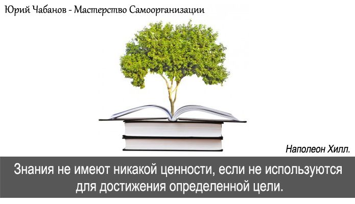 """#37 Если Вы получаете новые знания, то обязательно используйте их! Иначе Вы просто тратите время зря. """"Знания не имеют никакой ценности, если не используются для достижения определенной цели"""". Наполеон Хилл. #ЮрийЧабанов #МастерствоСамоорганизации #JMoSO"""