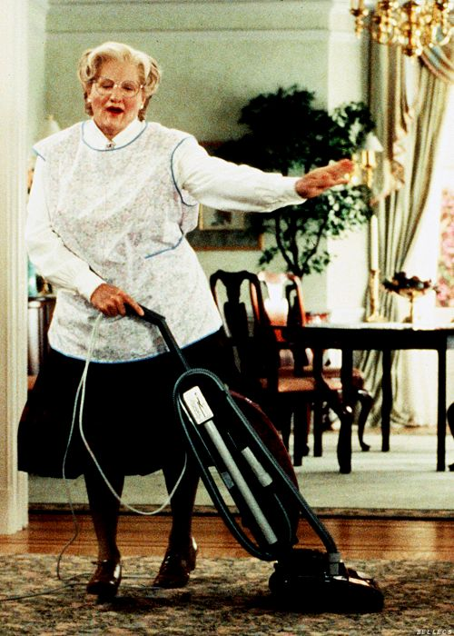 Mrs. Doubtfire (1993)  The last movie I watched with Jenny.  I cant watch it now.