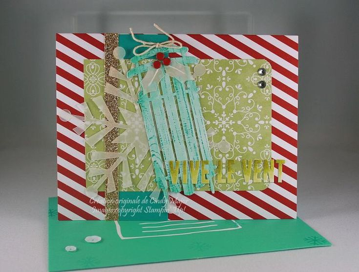 Variation on the suggested cards from the Watercolor Christmas SS kit.  http://cindymajor.typepad.com/encre_papier_ciseaux/2014/11/dashing-through-the-snow.html  TFL!