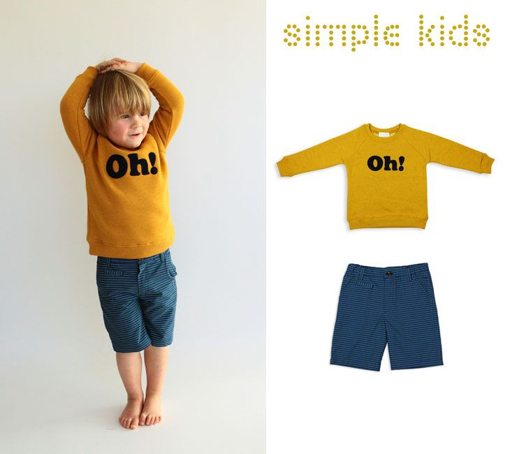 Amazing Simple Kids outfit for boys!