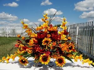Google Image Result for http://i.ebayimg.com/t/Dads-Cemetery-Grave-Headstone-Sun-Flowers-Yellow-Rust-Fathers-Day-Arrangement-/00/%24(KGrHqUOKicE4vYSsIq)BORBHe0tJg~~0_35.JPG