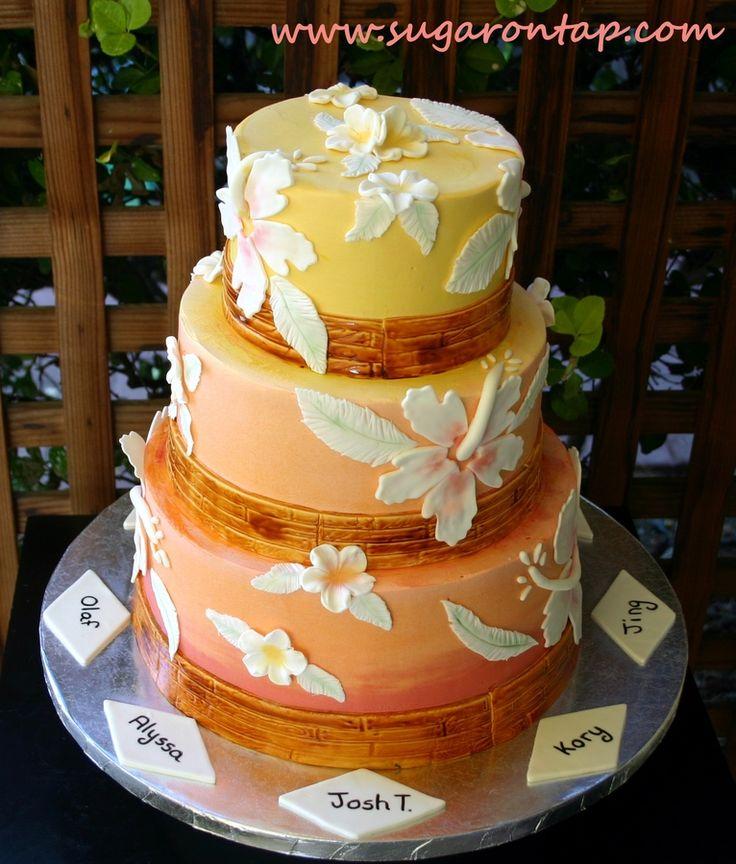 65 best Exotic cakes :D images on Pinterest   Cake wedding ...