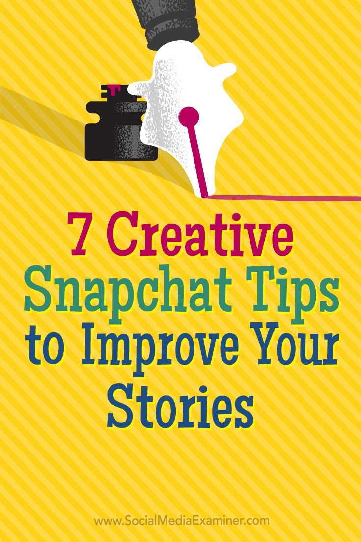Wondering how to sustain engagement with Snapchat users?  By trying these tactics, youll keep your Snapchat fans engaged and coming back for more.  In this article, youll discover seven ways to keep people engaged with your Snapchat stories. Via @smexam