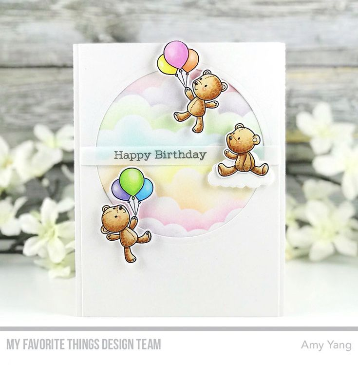 Handcrafted Cards Made With Love: Happy Birthday - MFT WSC 373