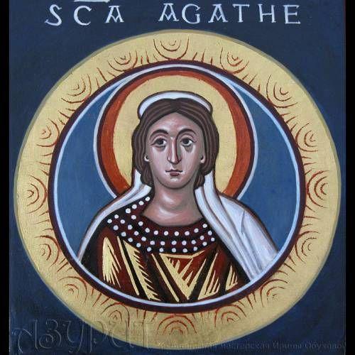 Икона Св. Агаты - Cerca con Google